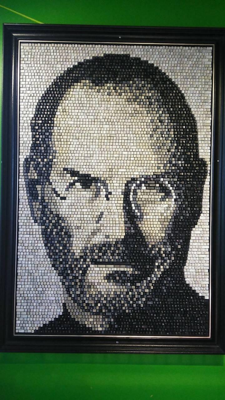 Steve Jobs keys