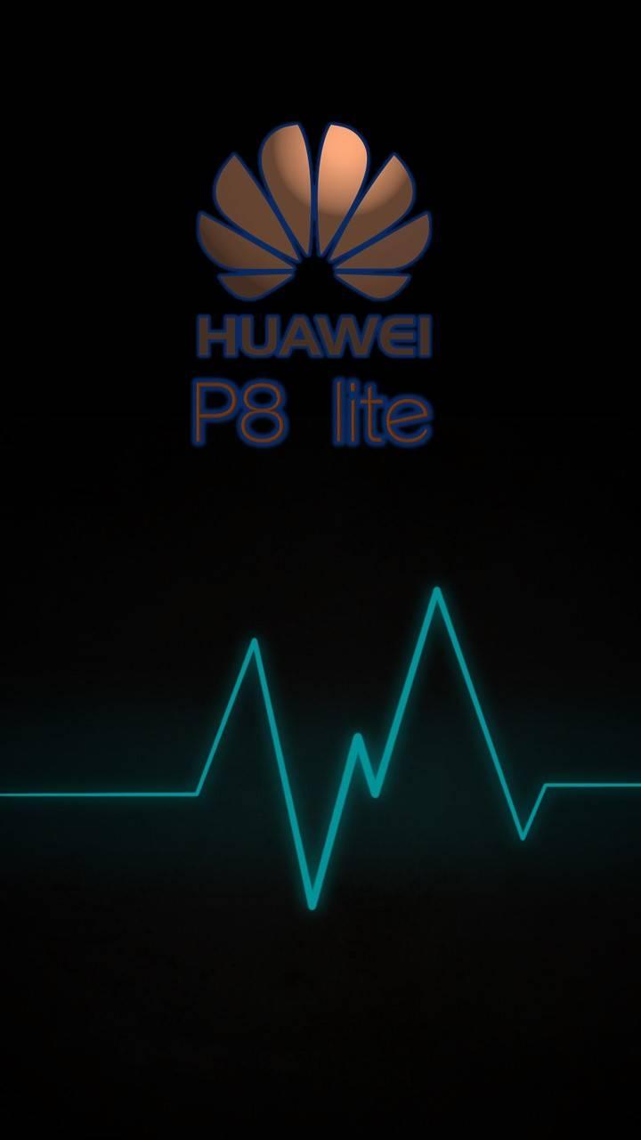 Huawei P8 lite heart