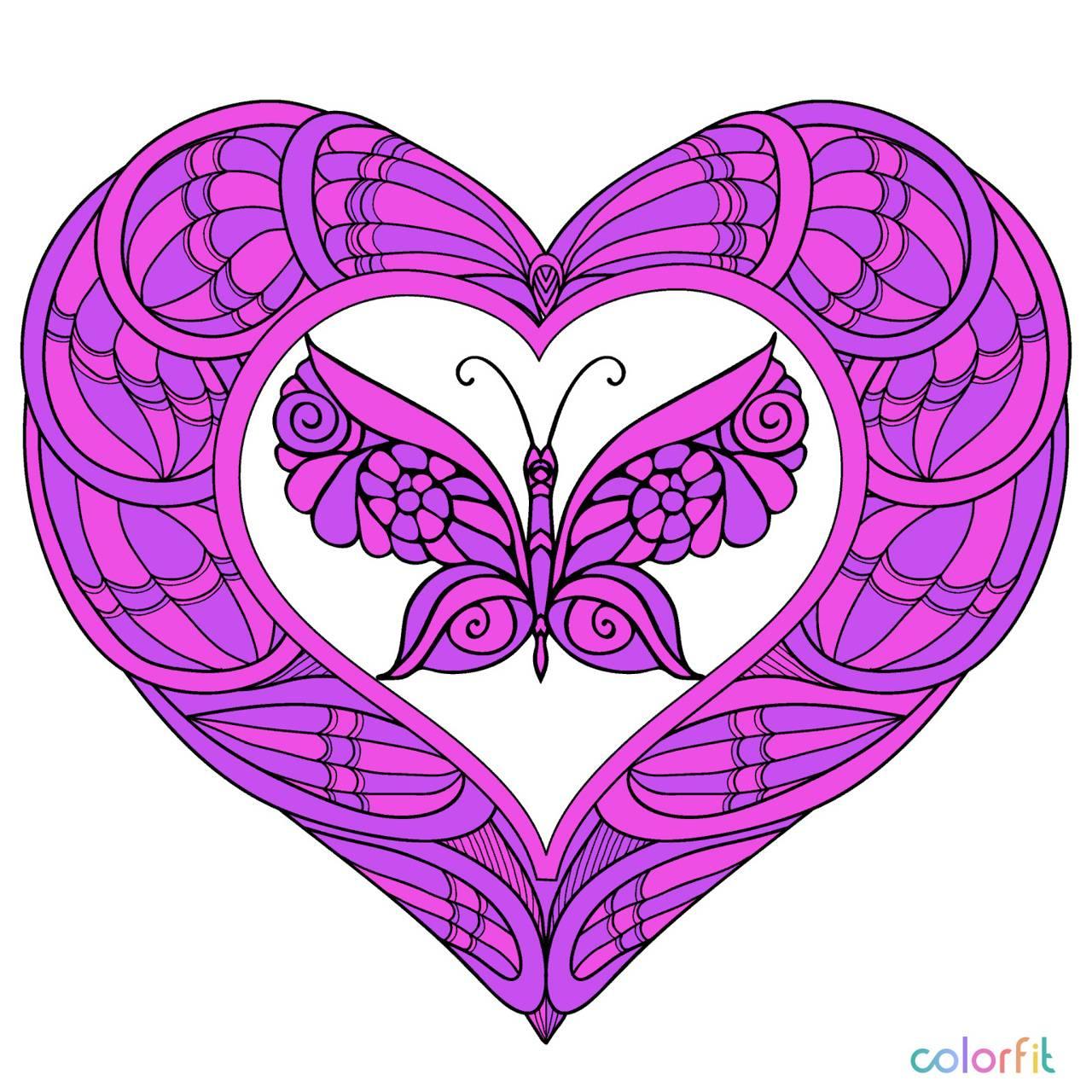 A BUTTERFLIES HEART