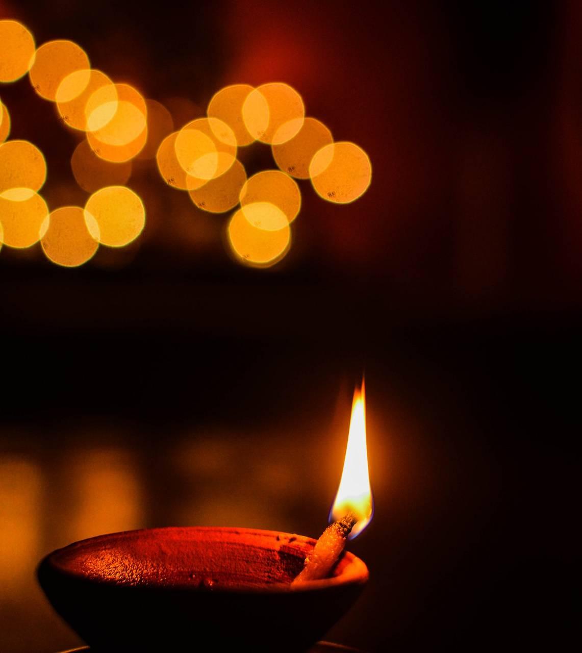 Diwali night lamp