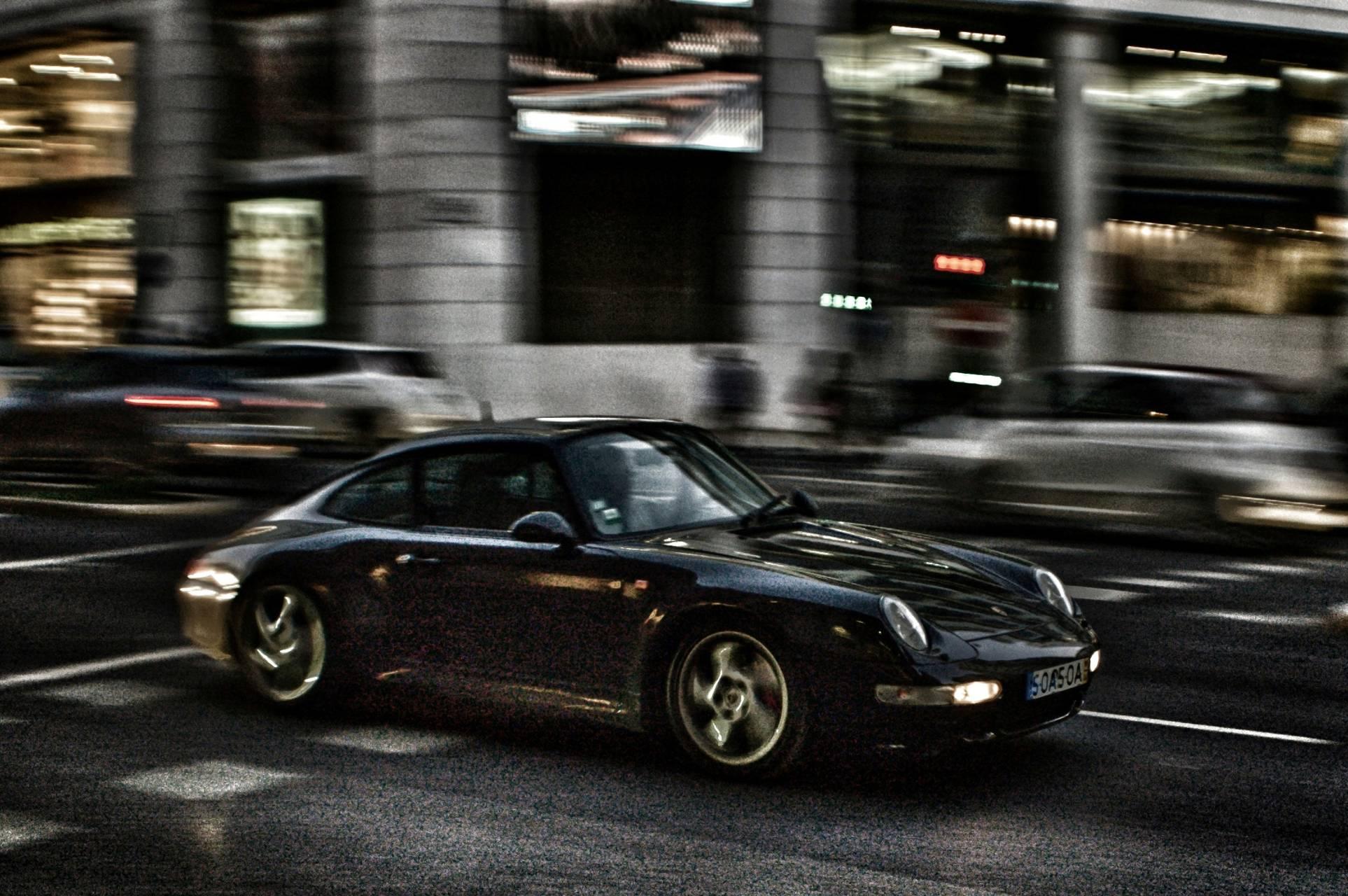 Porsche in Lisbon