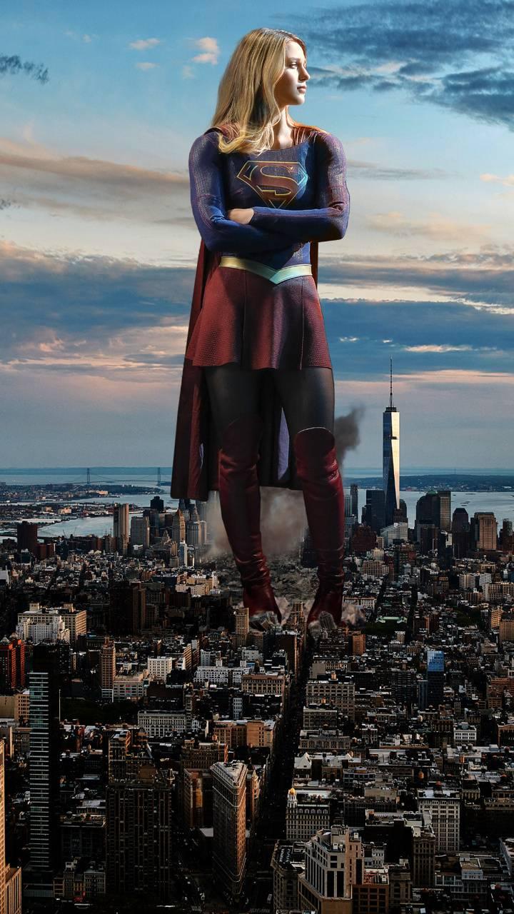 Huge supergirl