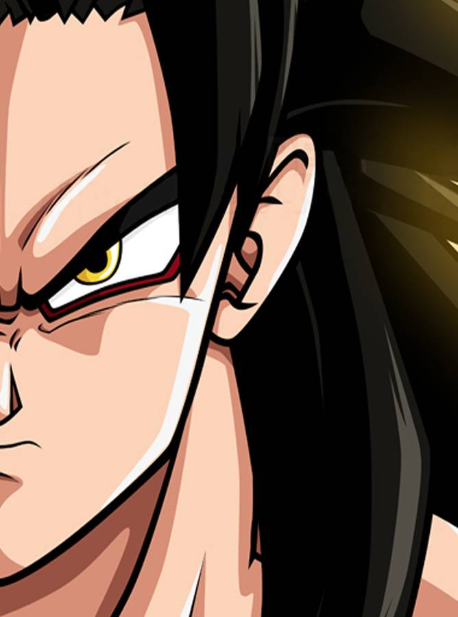 Goku Ss4 Face
