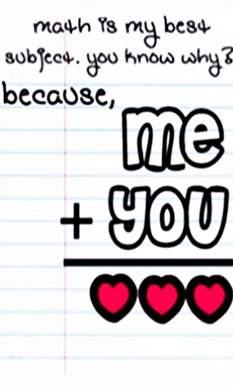 i love math because