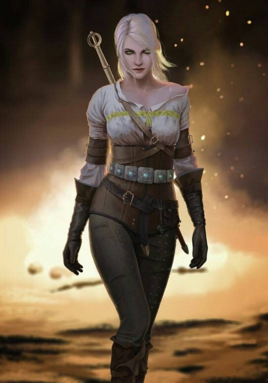 The Witcher Girl