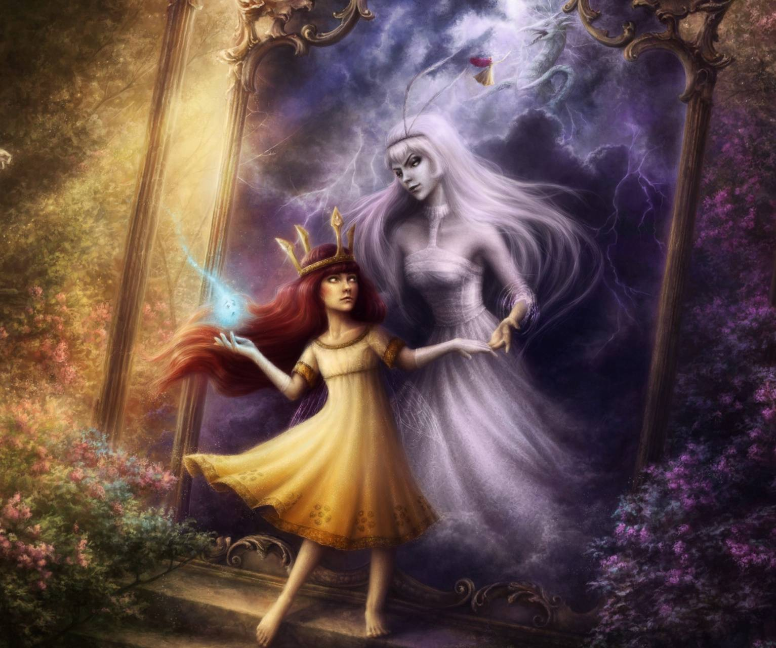 princess and ghost