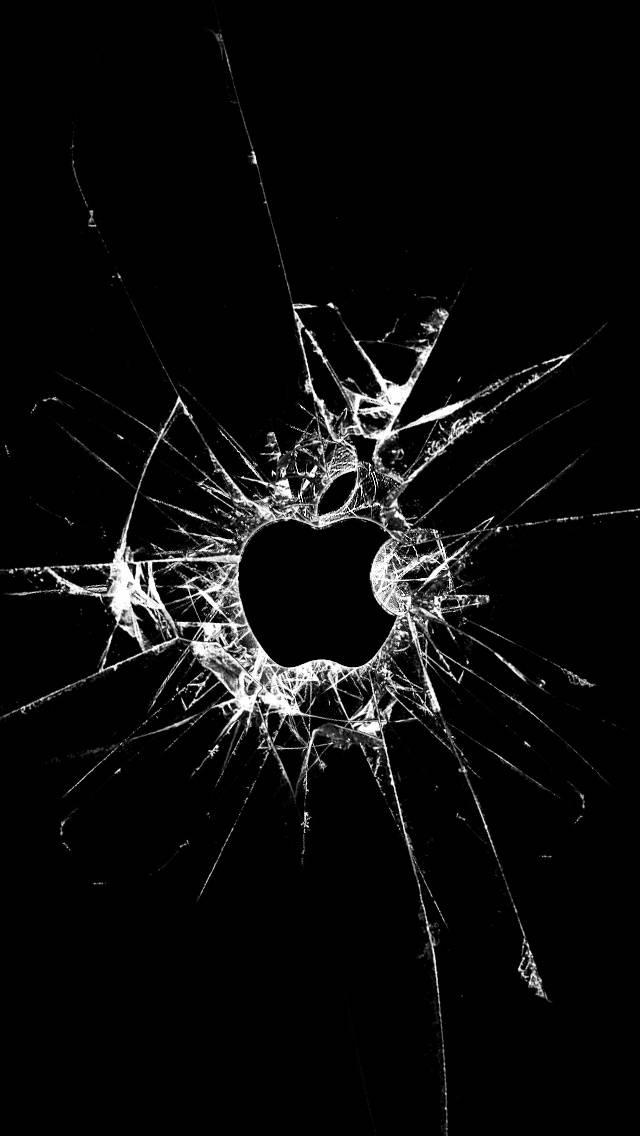 Разбитый Экран Обои На Айфон 5 S