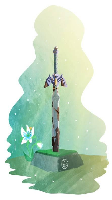 master sword BOTW