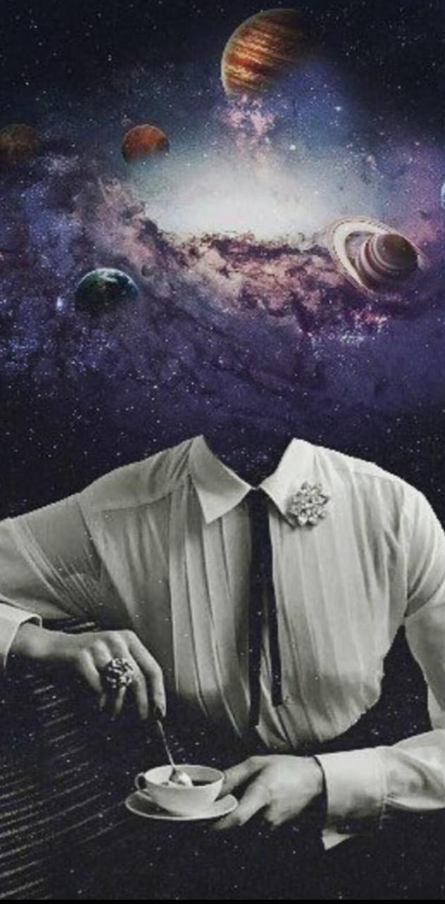 Mujer galaxia