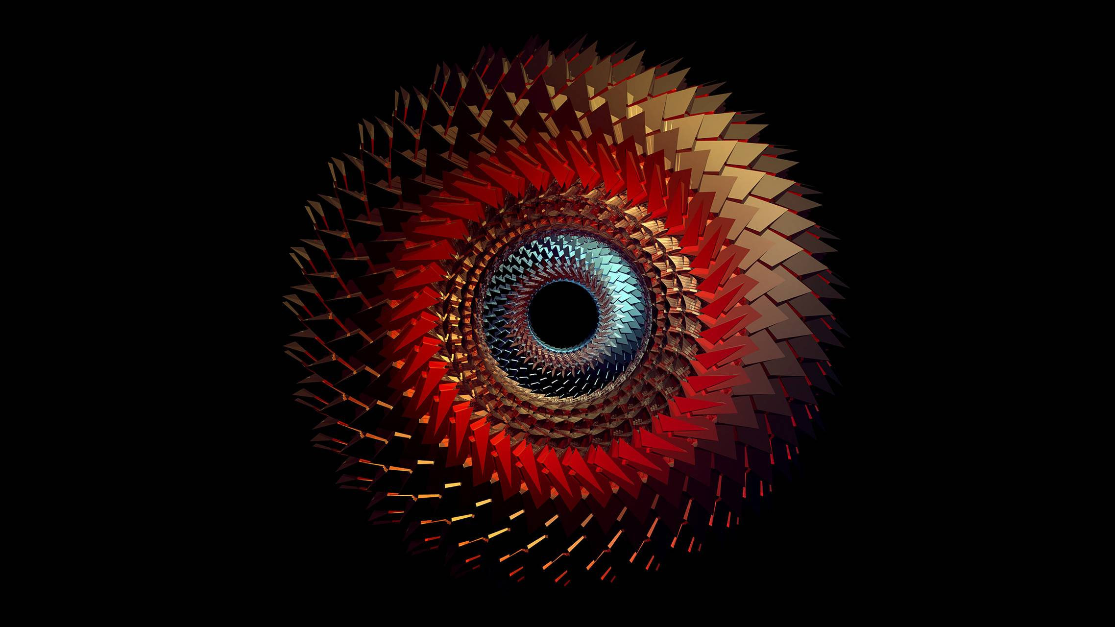Abstract Spiral Eye