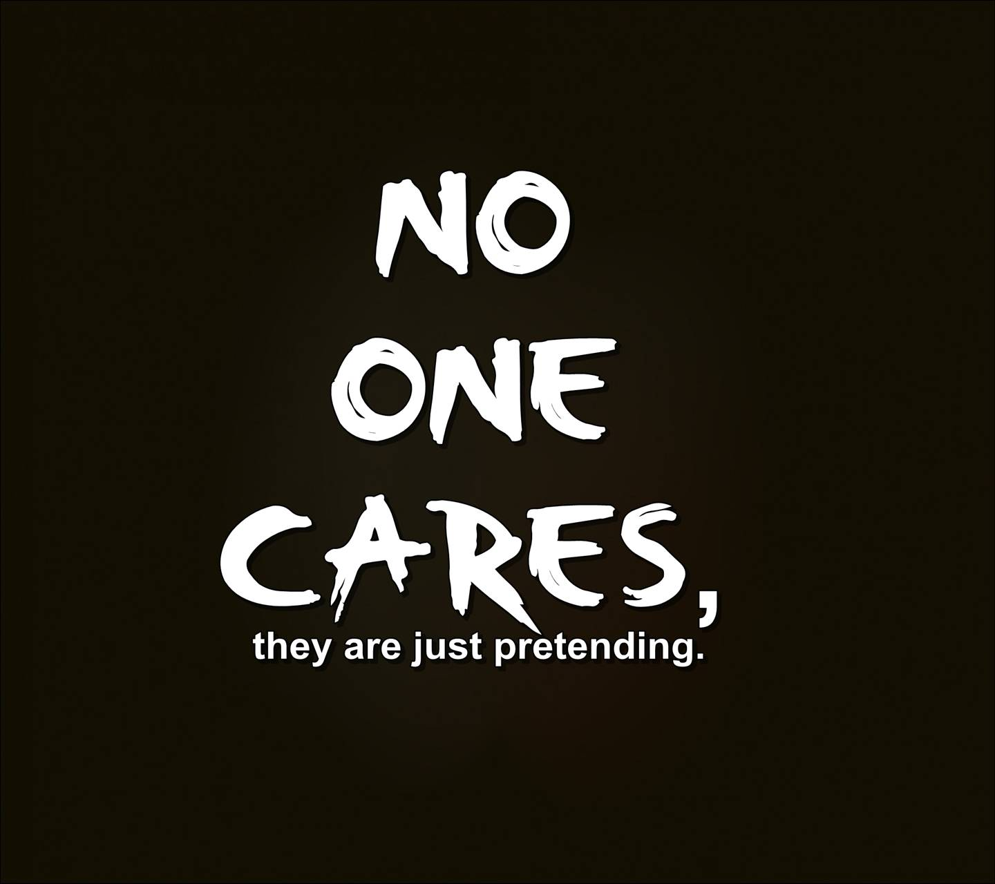 why no one cares