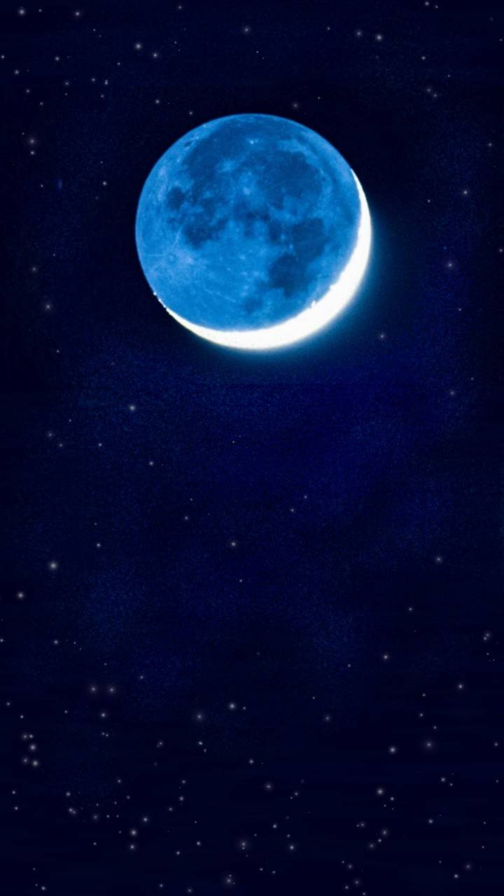Blue Waxing Moon
