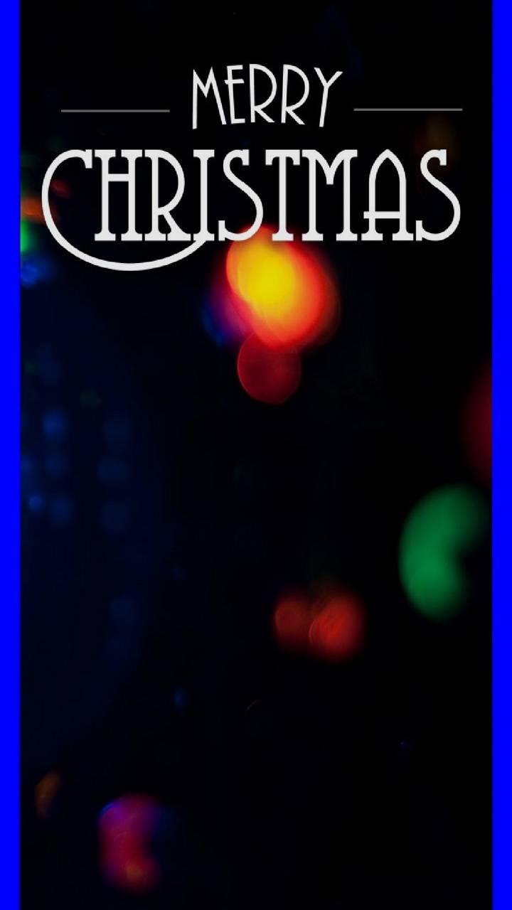 Merry Christmas Blue
