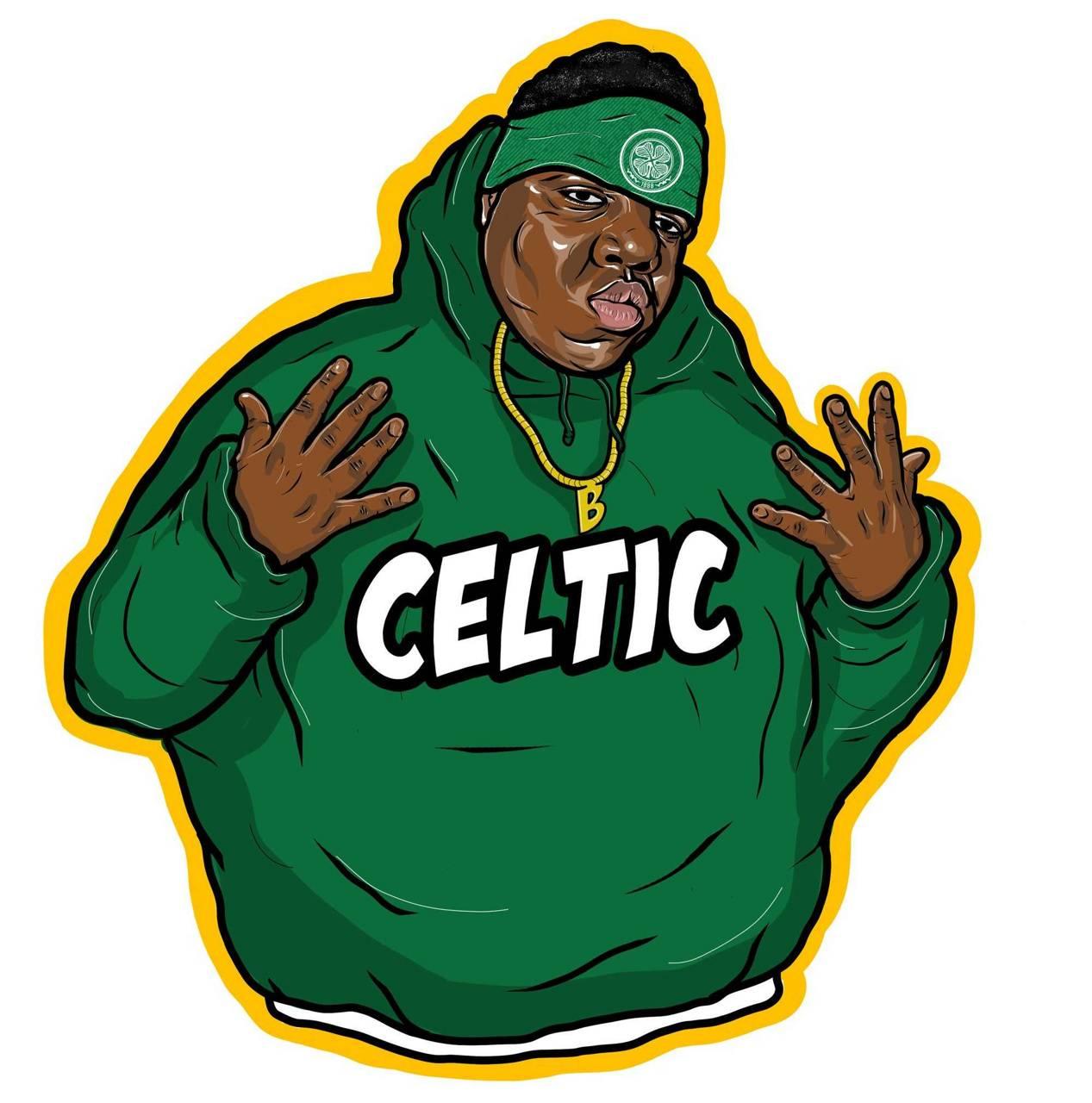Biggie Smalls Celtic wallpaper by