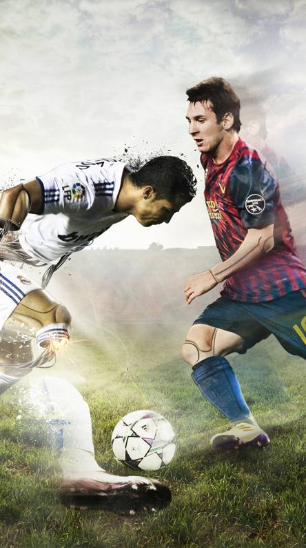 Messi Vs Ronaldo Wallpapers