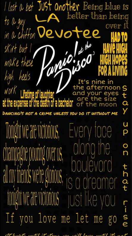 PATD Lyrics