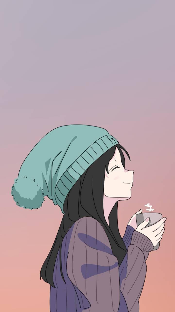 Anime girl - Tea Cup