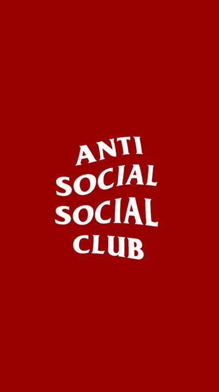 Anti social social club wallpaper
