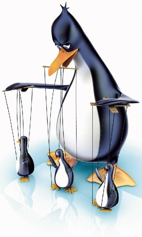 Penguin Puppeteer