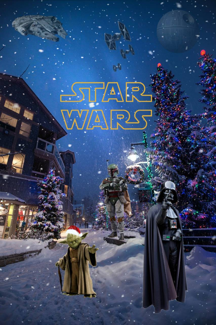 Star Wars Christmas Wallpaper By Qmorgan1138 B5 Free On