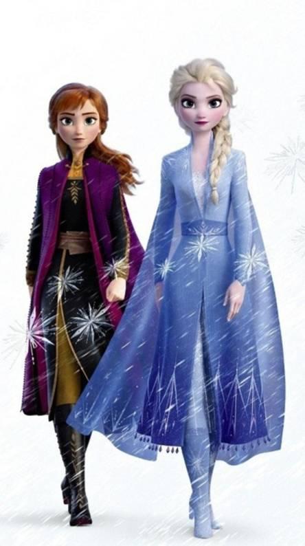 Frozen 2 Elsa y Anna