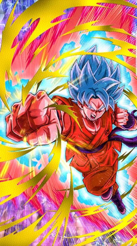 SSJ Blue Kioken Goku