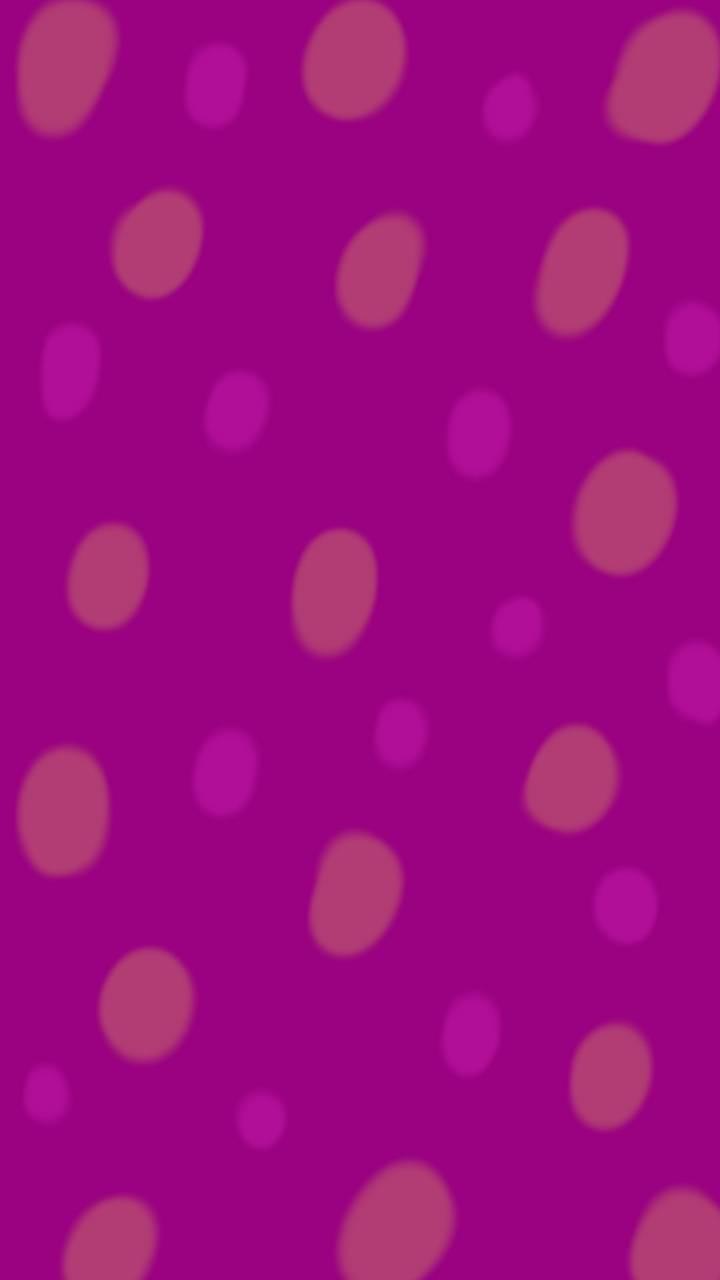 Dots on plum