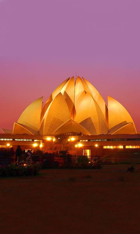 India lotus temple