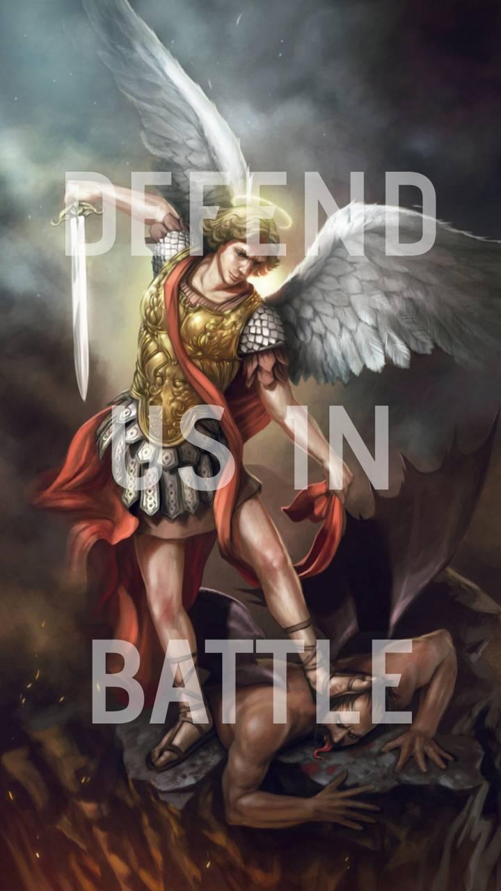 St Michael Defend Us Wallpaper By Avilla1047 Fb Free On