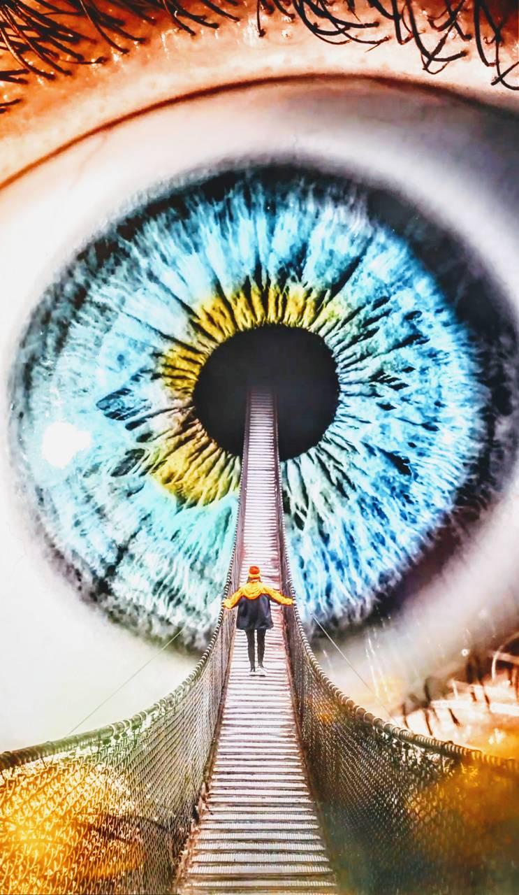 Cool eye photo