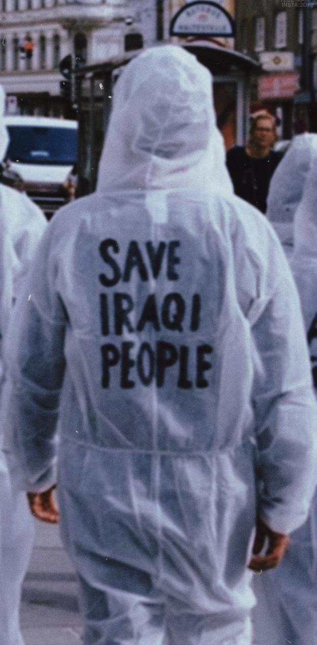 Save iraqi people
