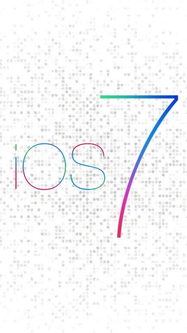Ios 7 White Dots Hd