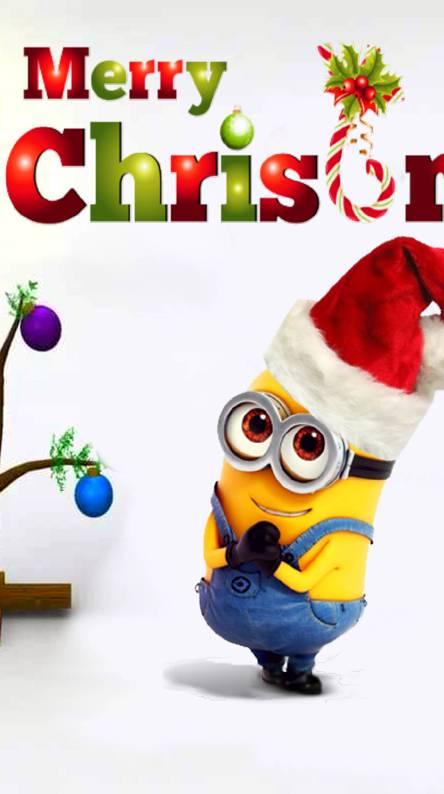 christmas minion - Minion Christmas Tree