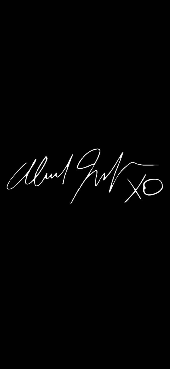 The Weeknd Signature