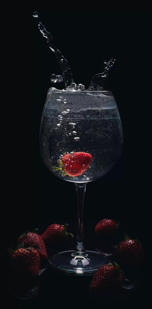Strawberrie vodka