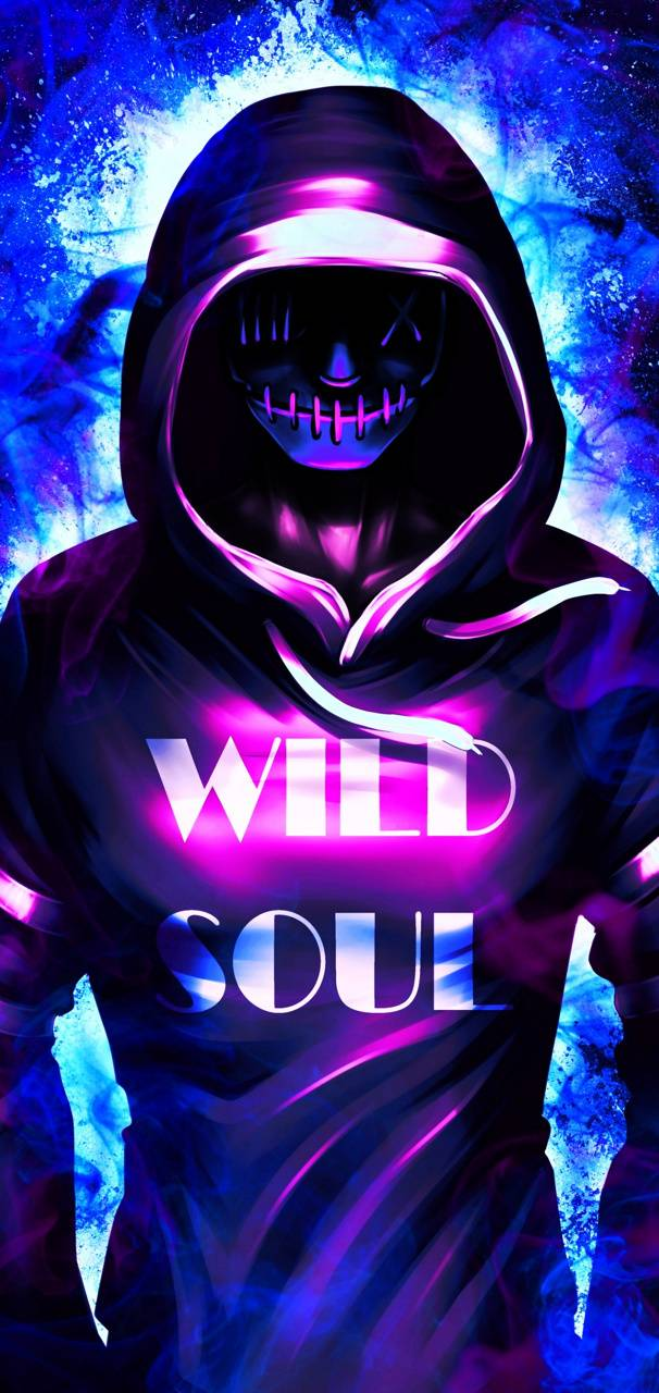 Neon Mask Wallpaper By Themune007 82 Free On Zedge