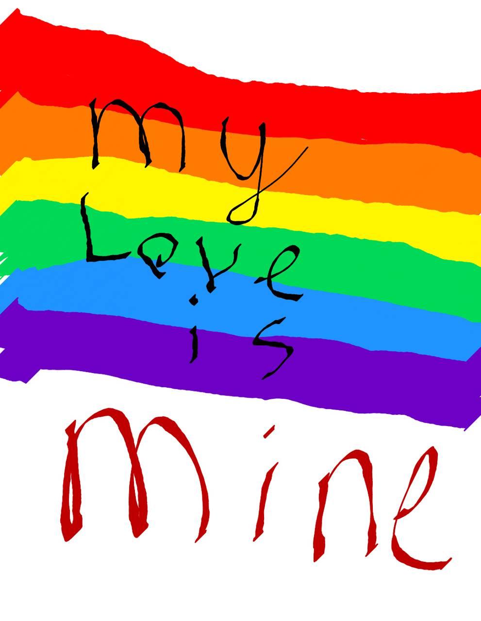 My love is mine