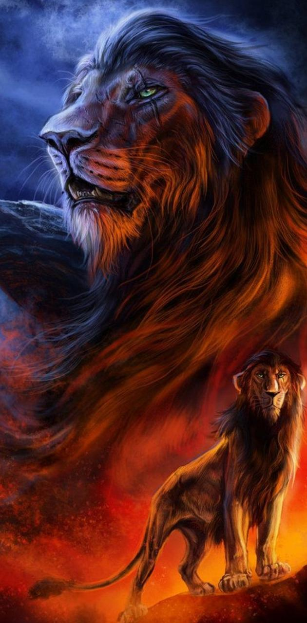 Evil Scar Lion King