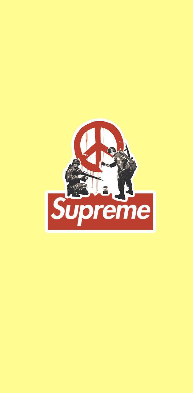 Supreme x Banksy