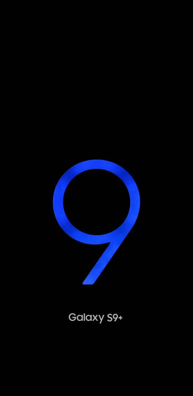 Galaxy S9 Plus Blue wallpaper by