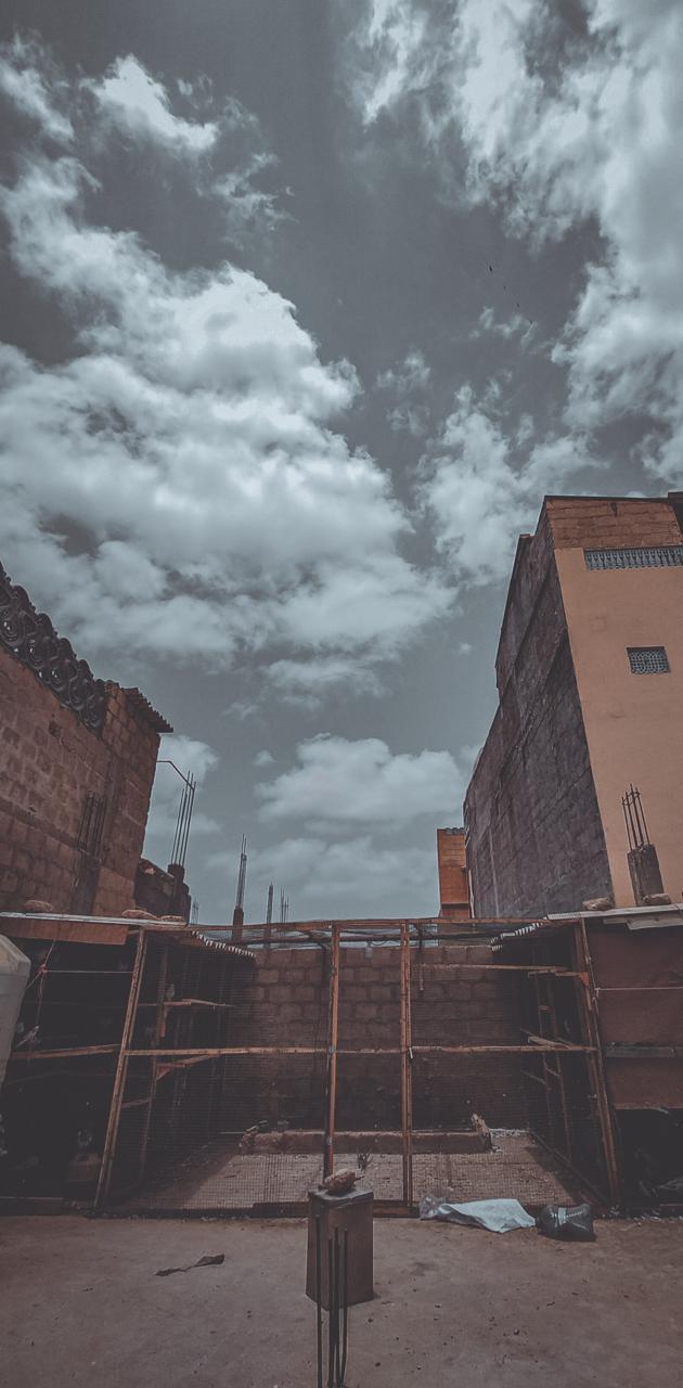 Urban sky photo