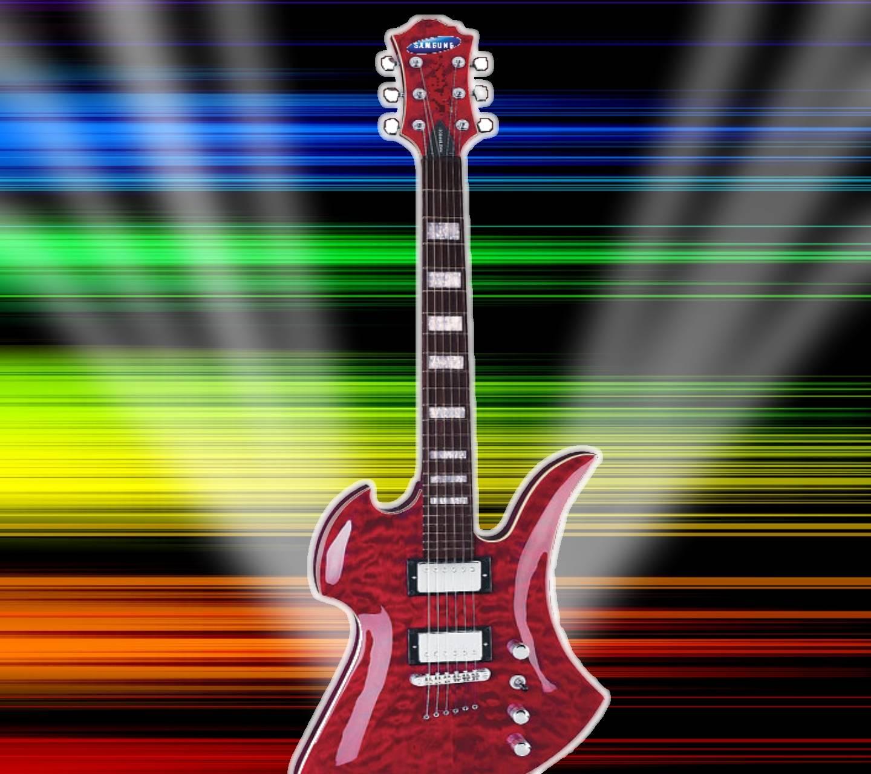 Glaring Guitar