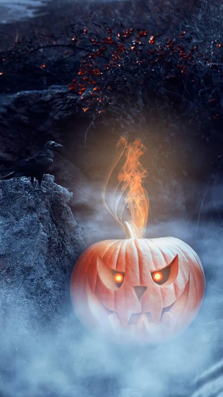 Scary pumpkin