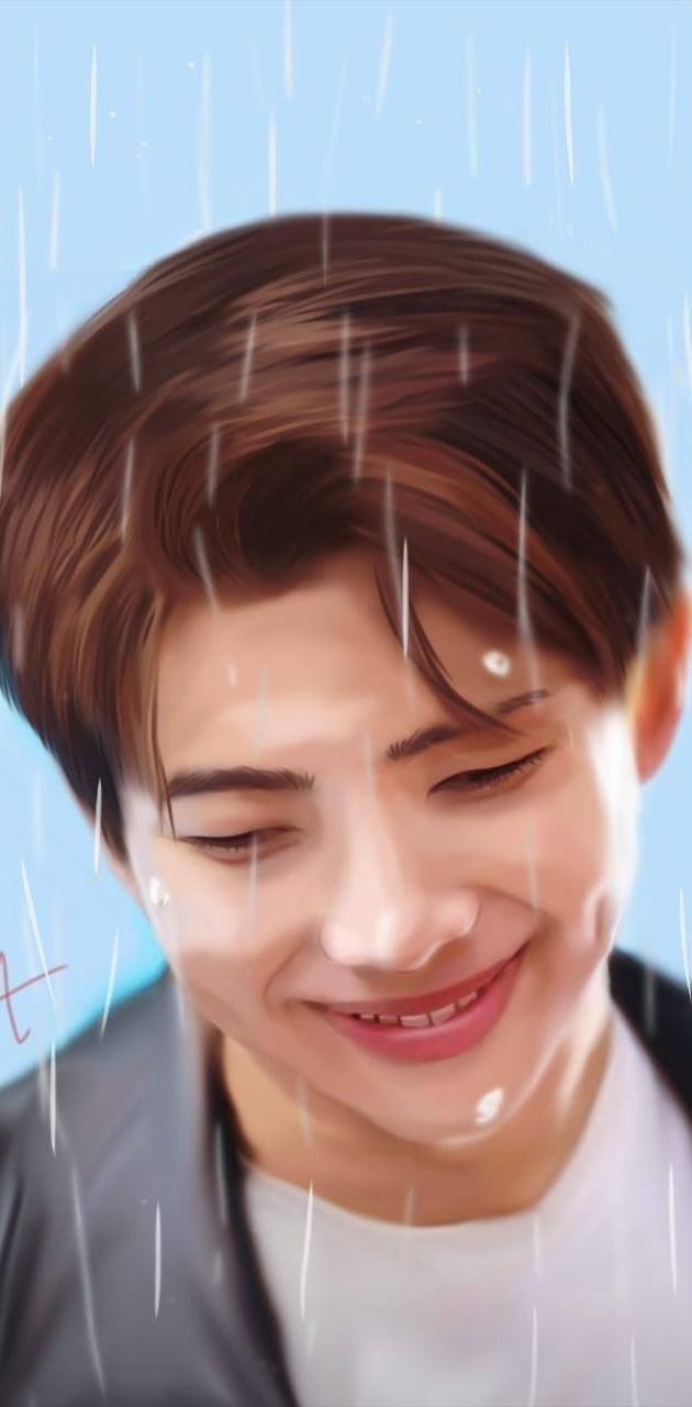 Namjoon Rm Rain