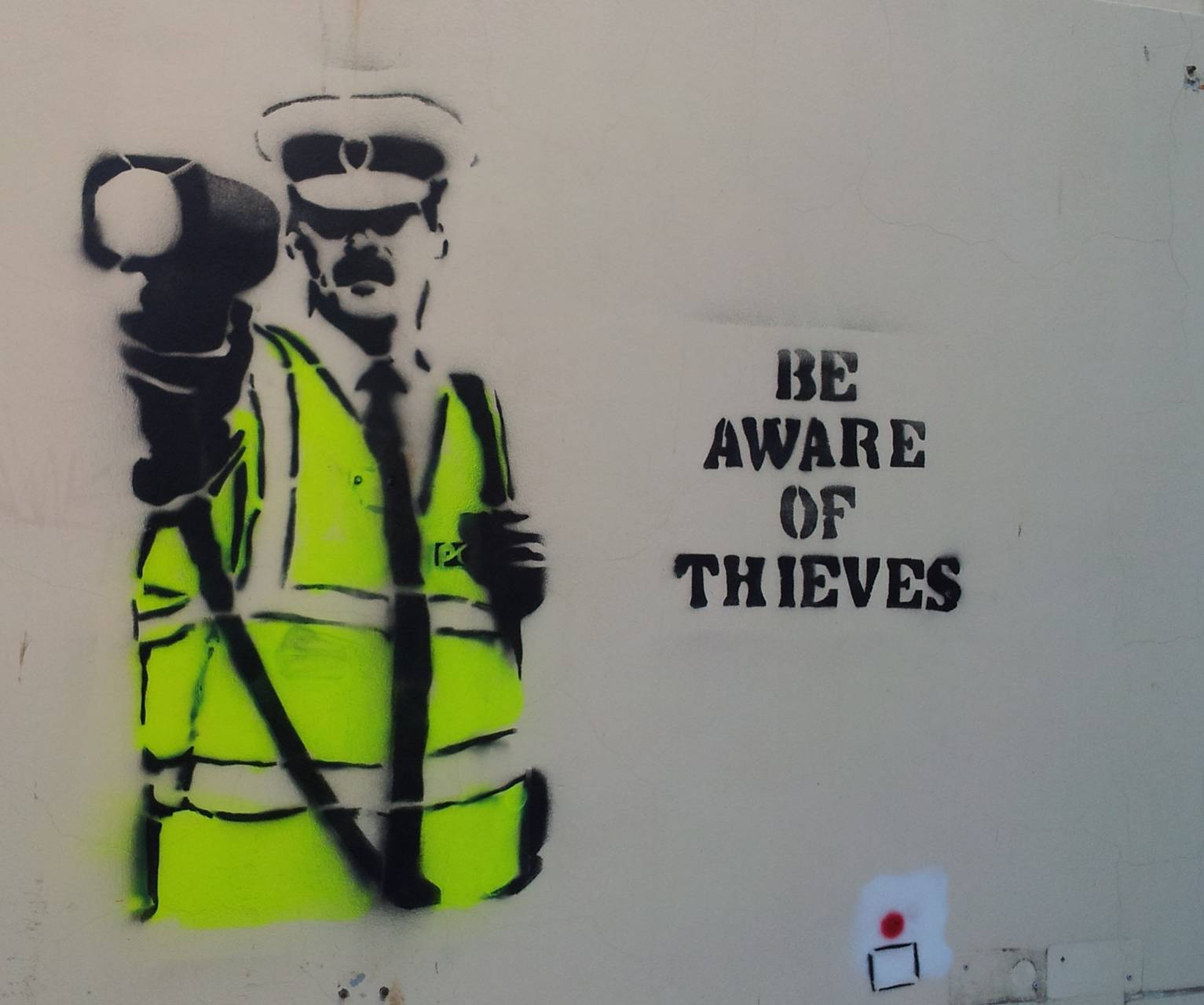 Be Aware Of Thieves