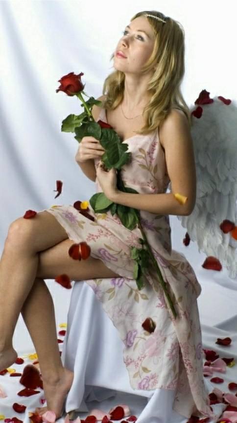 Rose Angel
