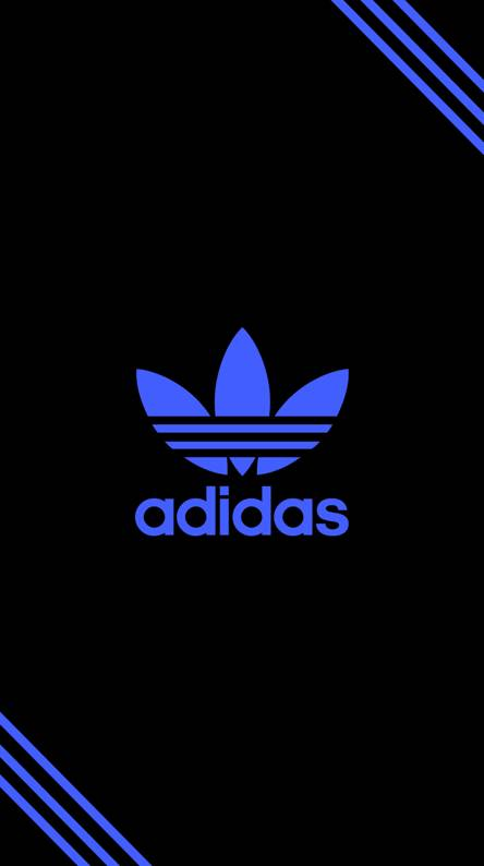 Adidas Blue Wallpapers Free By Zedge