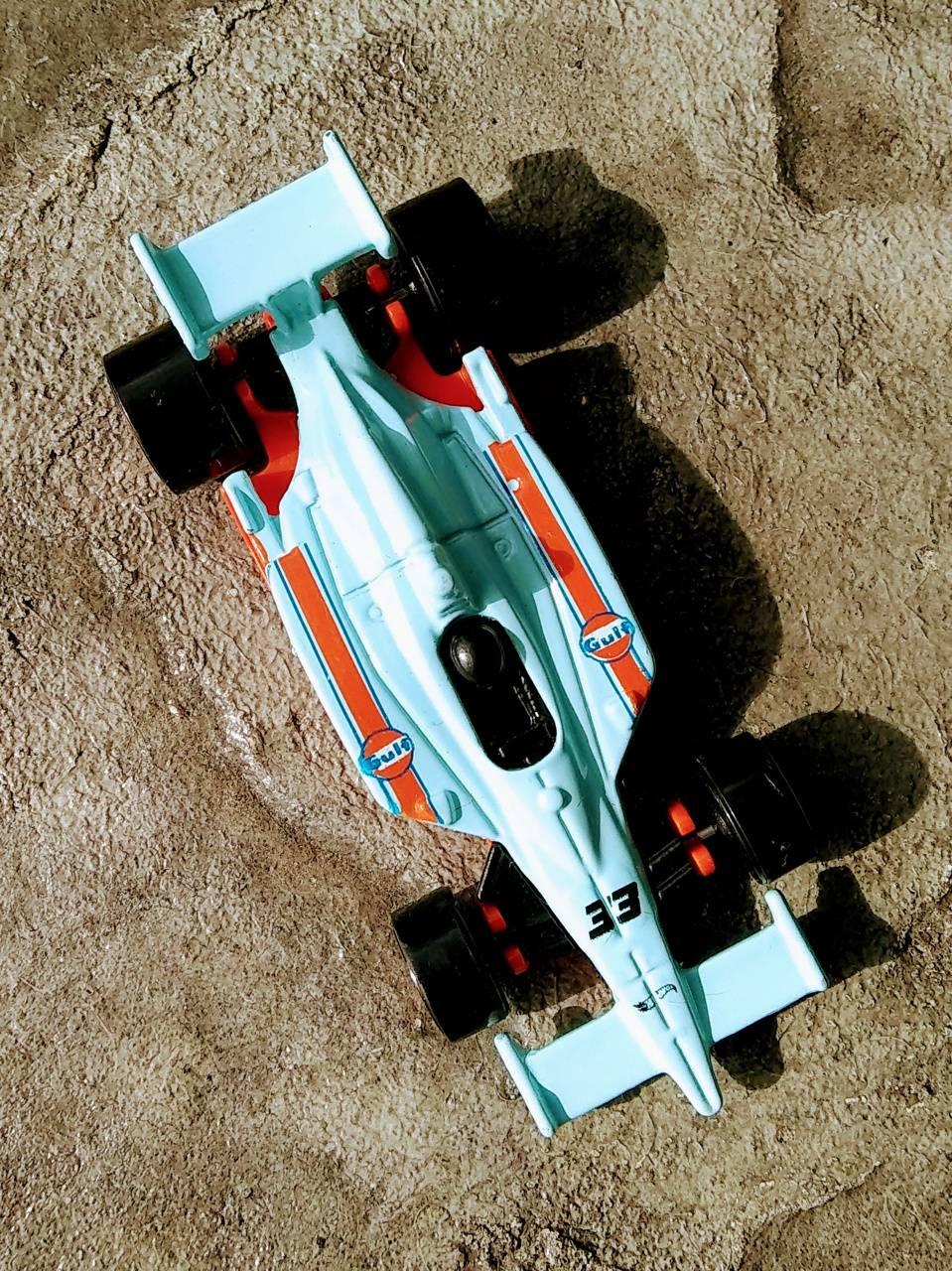 F1 car hotwheels