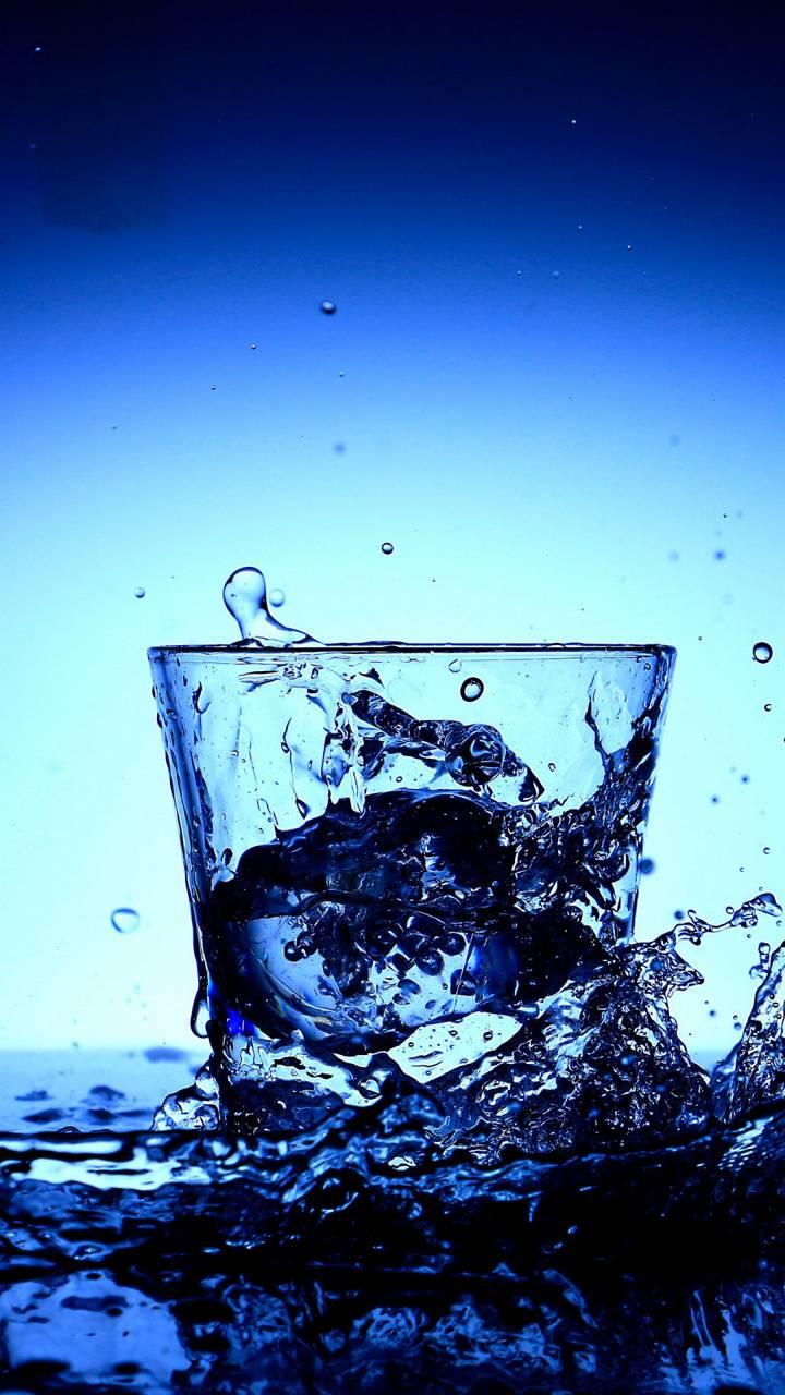 Glass Water Splash