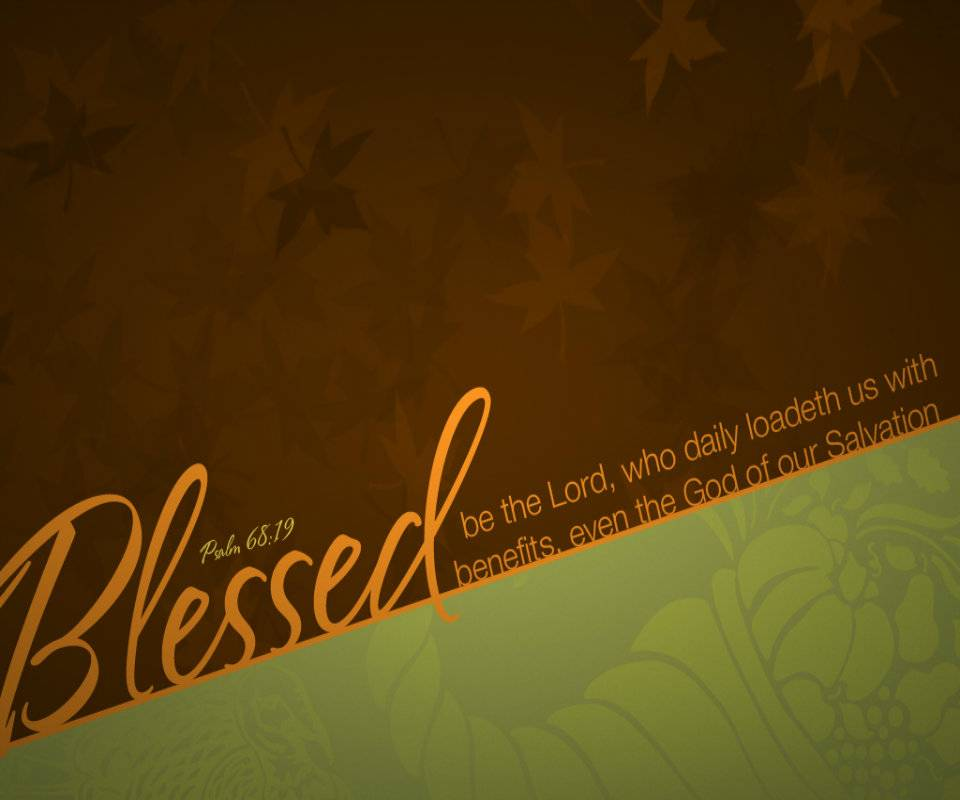 Thanksgiving Blesses